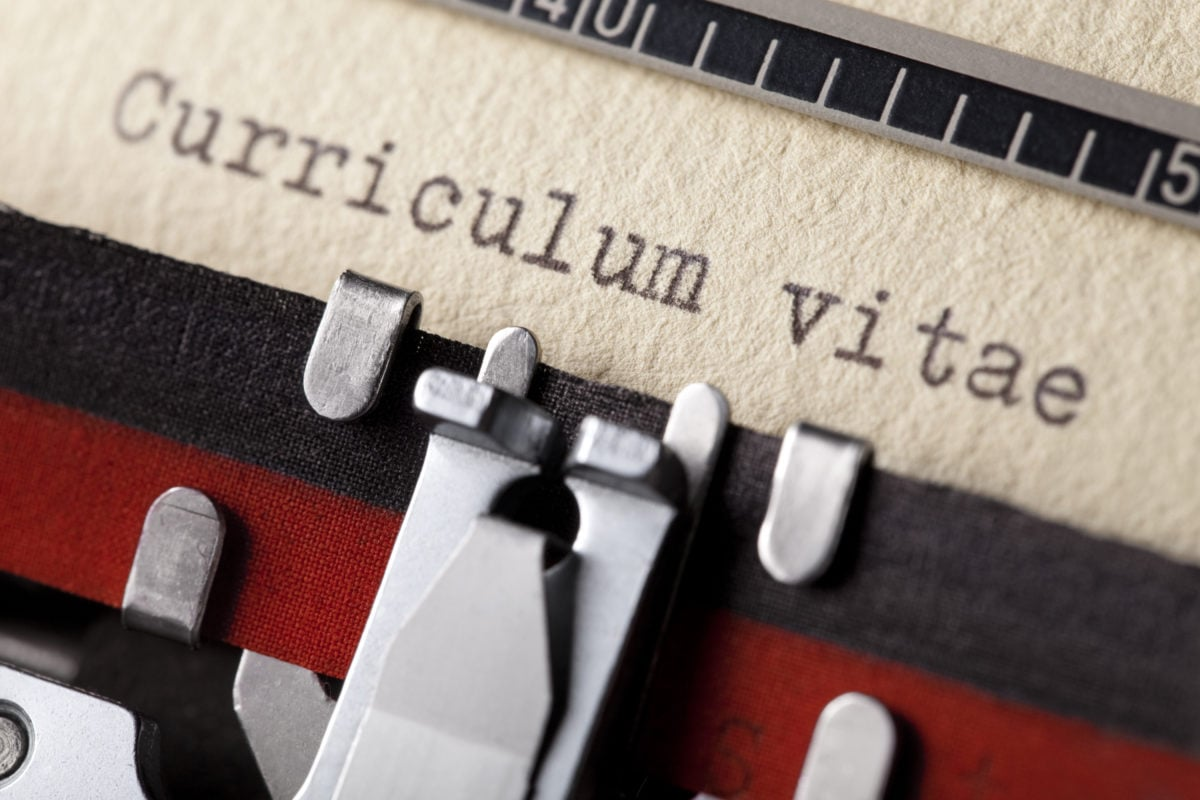 How to master your teaching CV